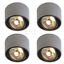 Mawa Design Special: 4x 111er round Ceiling Light