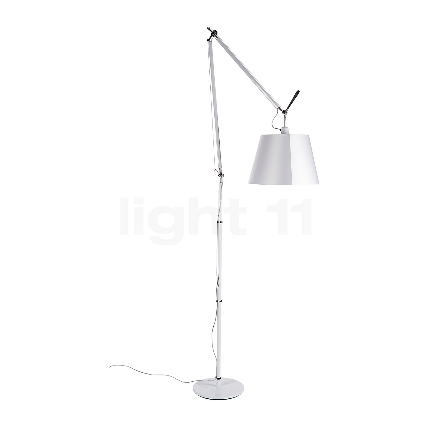 artemide tolomeo mega terra special edition white with dimmer floor lamps buy at. Black Bedroom Furniture Sets. Home Design Ideas