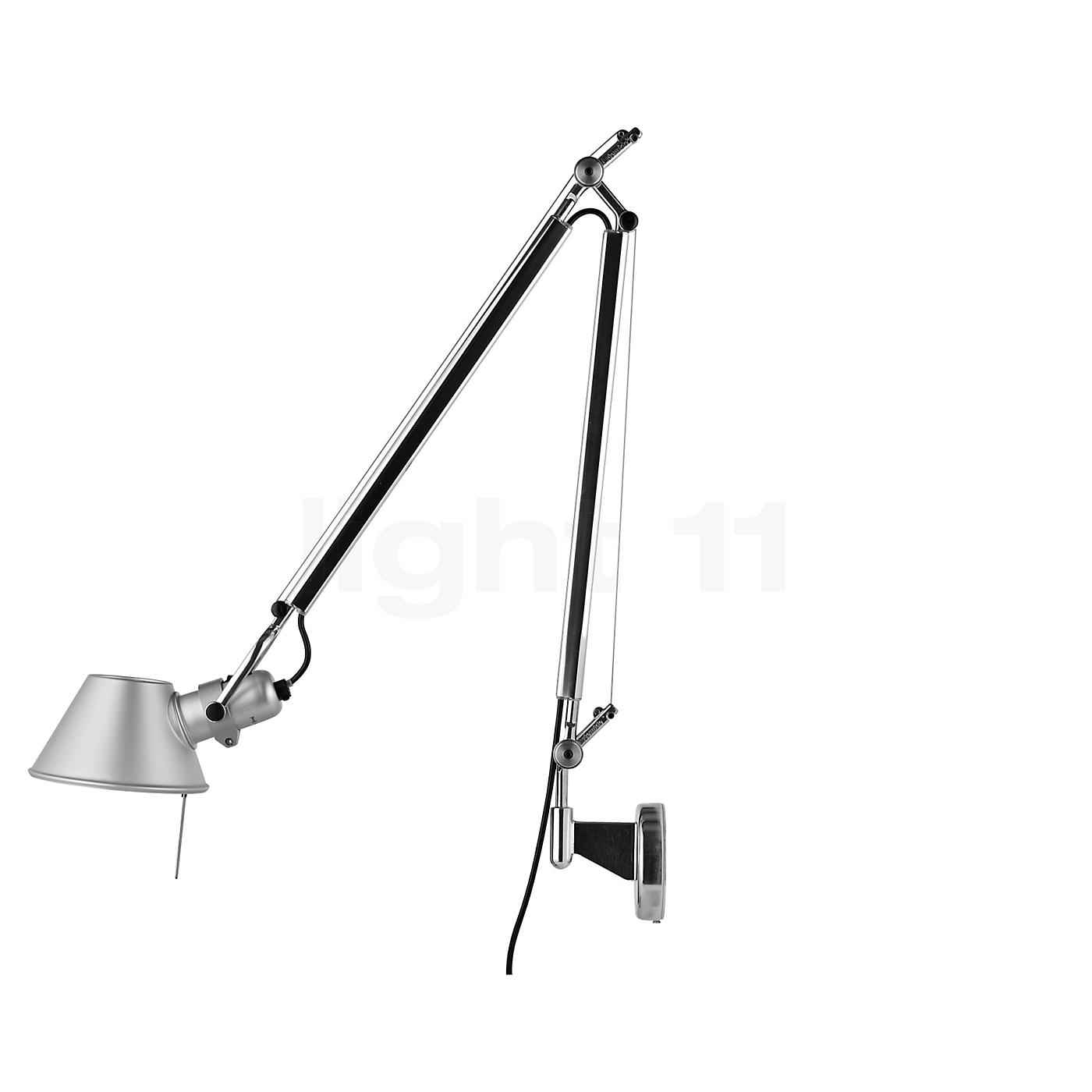 artemide tolomeo parete wandlampen lampen. Black Bedroom Furniture Sets. Home Design Ideas