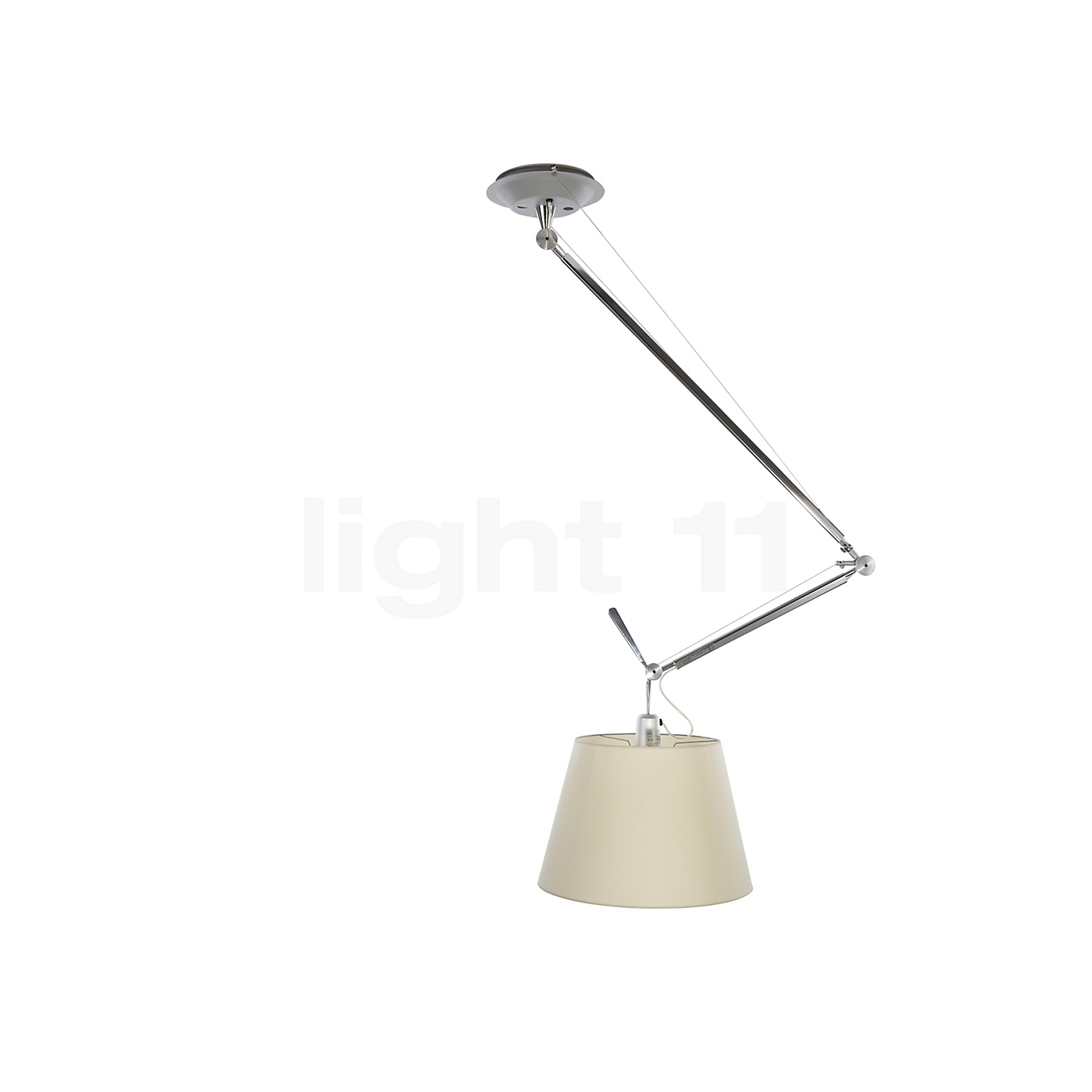 Artemide Tolomeo Sospensione Decentrata - Pendant lights - lamps & lights - light11.eu
