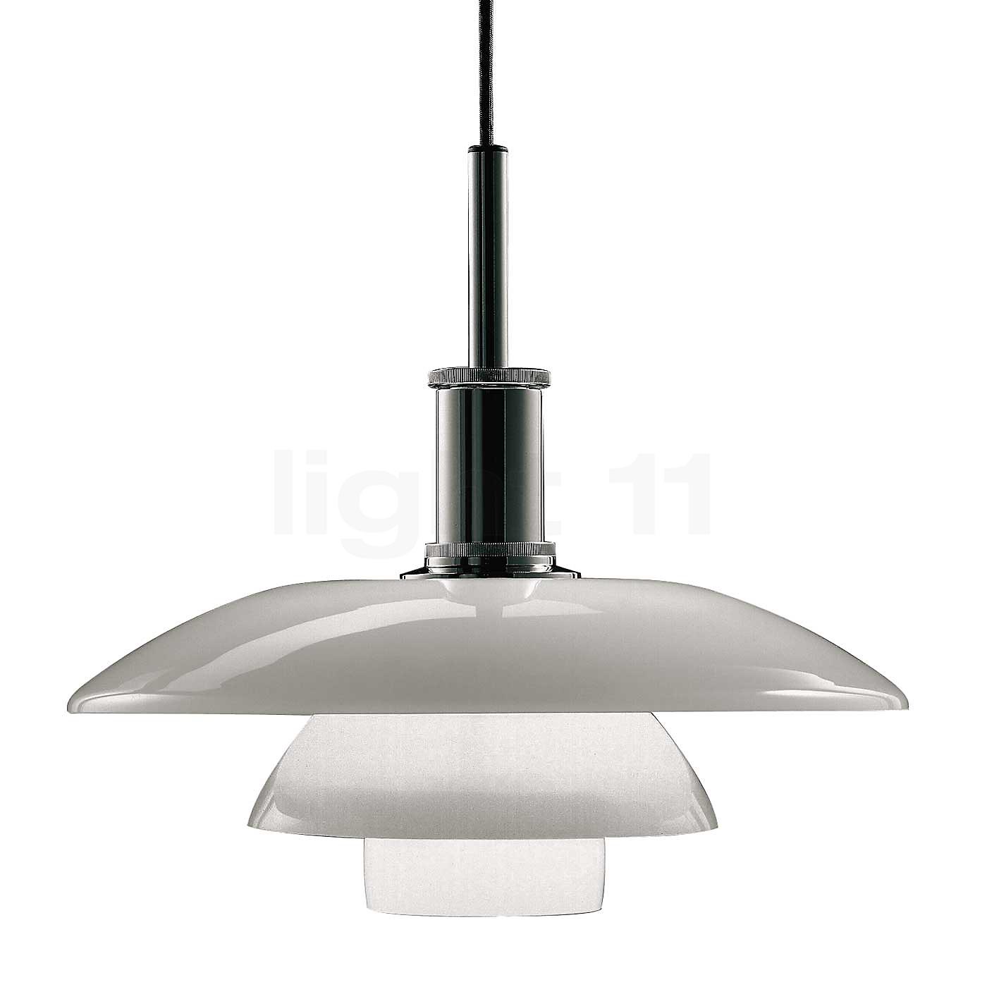 louis poulsen ph 4 4 glas suspension lampe de table en vente sur. Black Bedroom Furniture Sets. Home Design Ideas