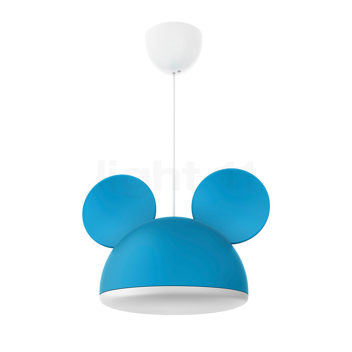 philips disney pendelleuchte micky maus blau pendelleuchte. Black Bedroom Furniture Sets. Home Design Ideas