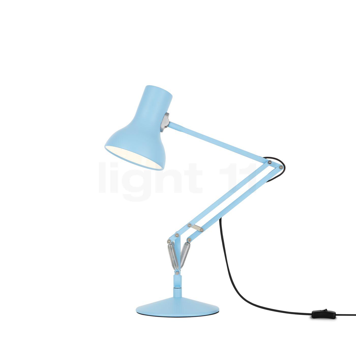 Anglepoise c type 75 mini lampe de bureau bleu - Lampe de bureau bleu ...