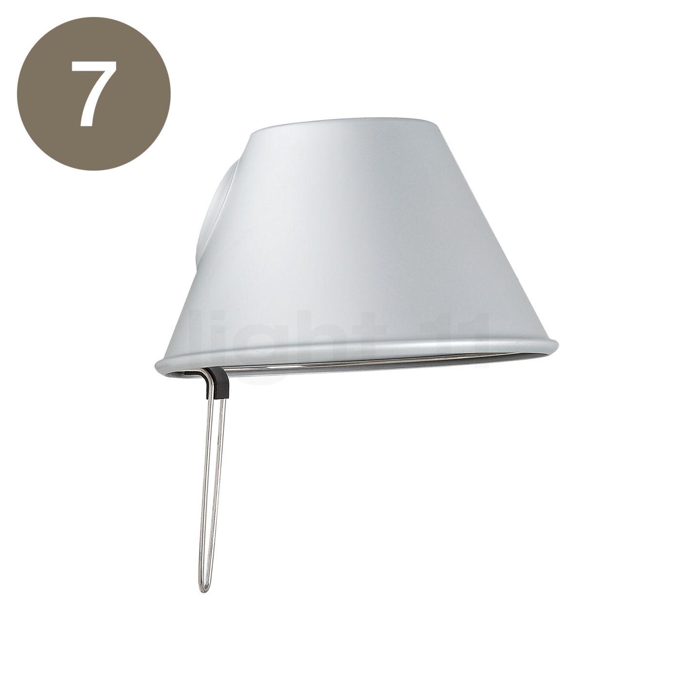 artemide tolomeo micro alu. Black Bedroom Furniture Sets. Home Design Ideas