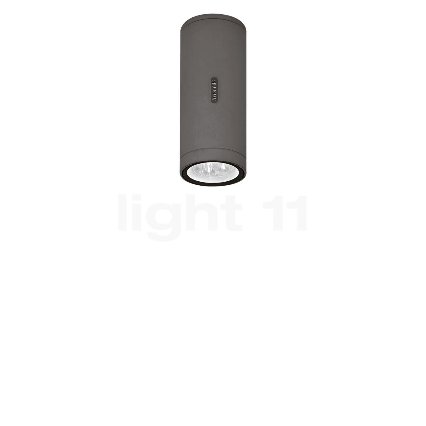Artemide Calumet Deckenleuchte LED, grau, 17,8 cm T41931LW10