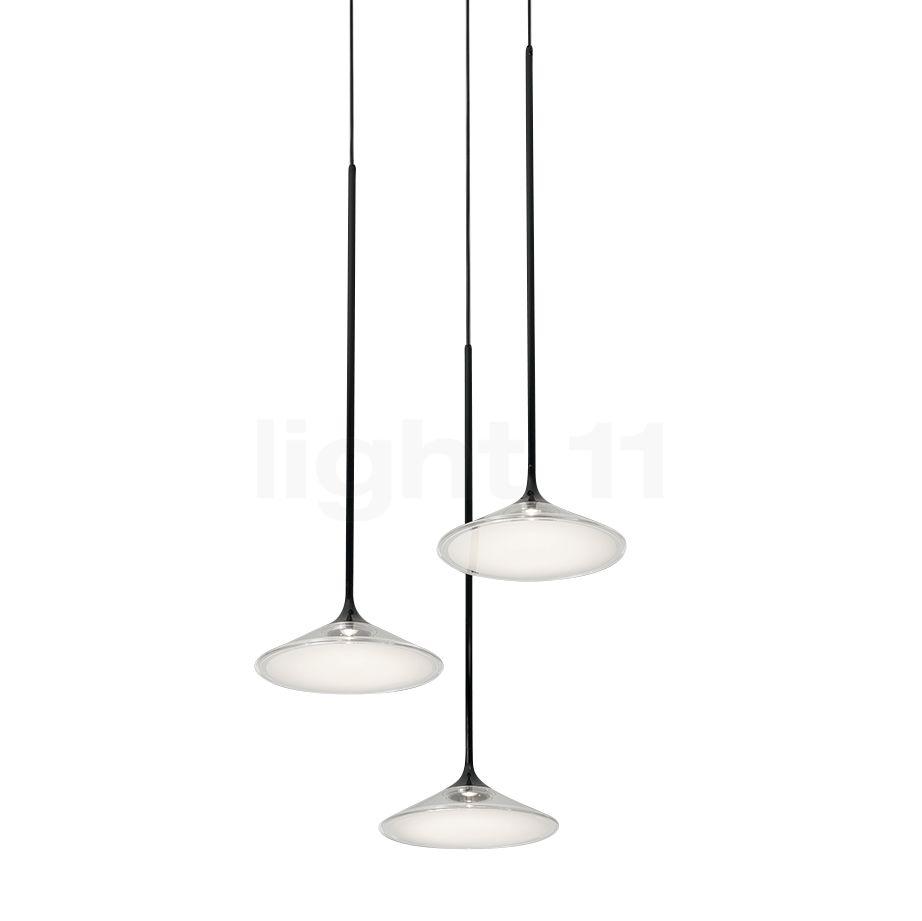 Artemide Orsa Kronleuchter 3-flammig LED, weiß 0353030A