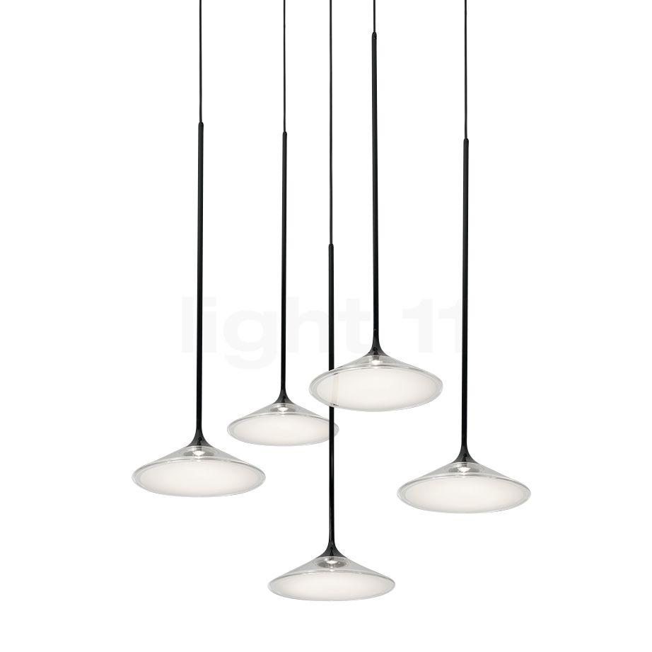 Artemide Orsa Kronleuchter 5-flammig LED, weiß 0355030A