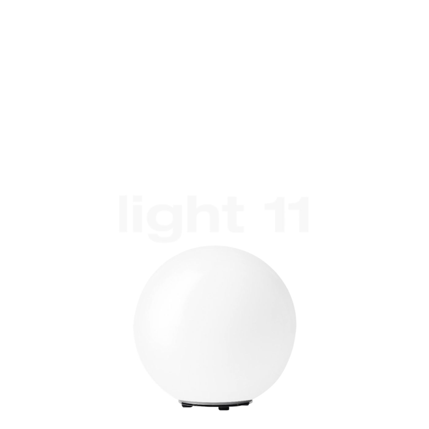 Bega 55013 - flexible Gartenleuchte ø35 cm, weiß