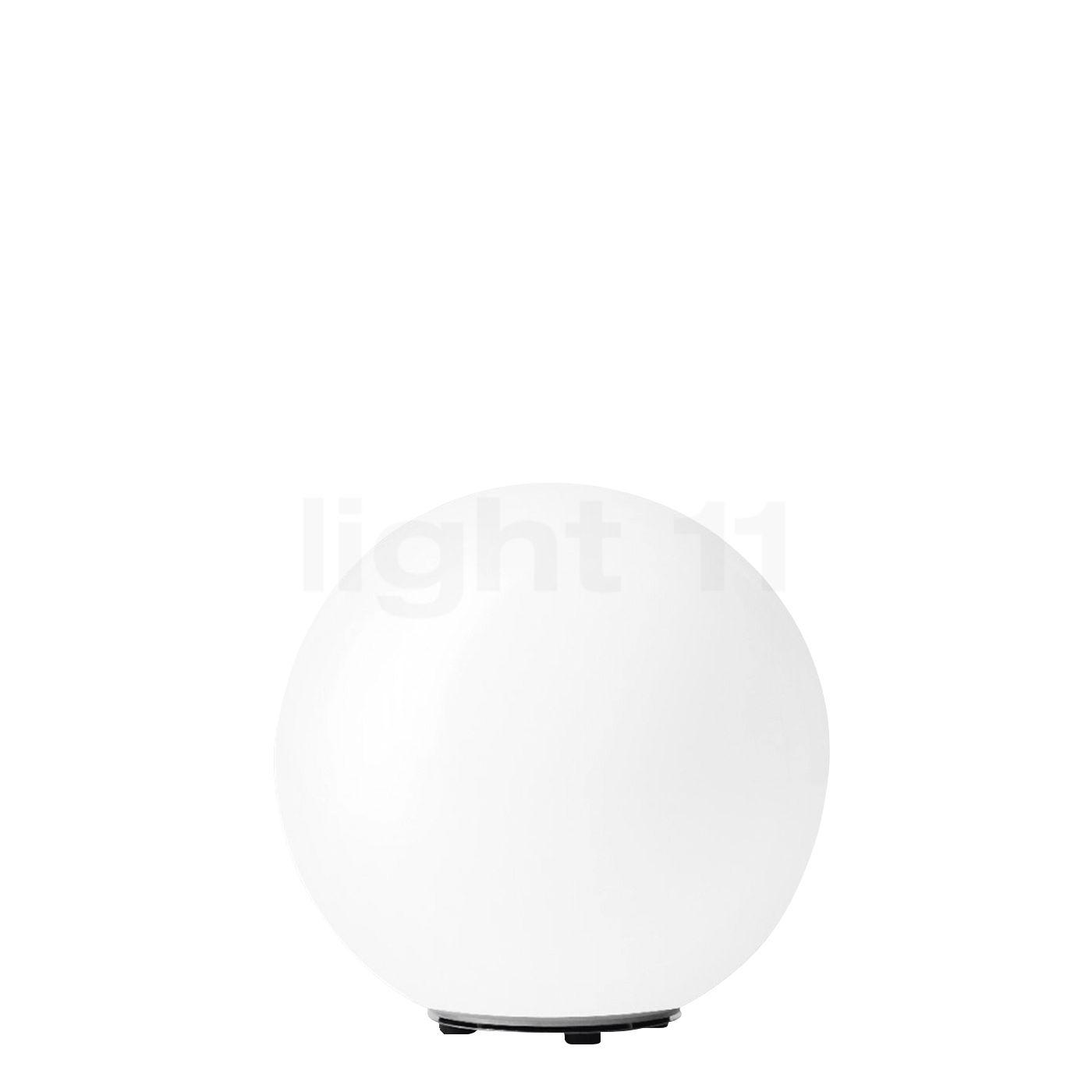Bega 55014 - flexible Gartenleuchte ø45 cm, weiß