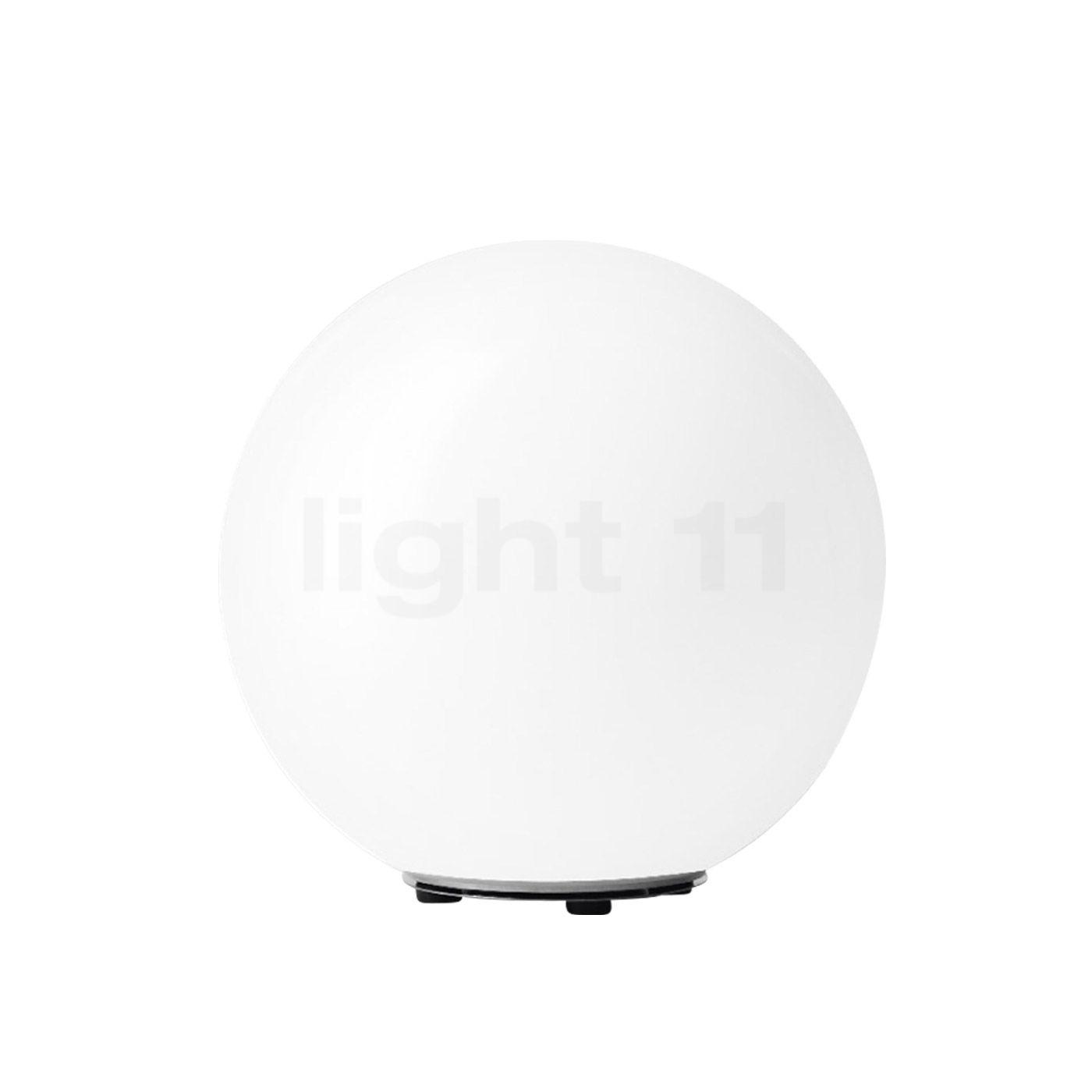 Bega 55015 - flexible Gartenleuchte ø55 cm, weiß