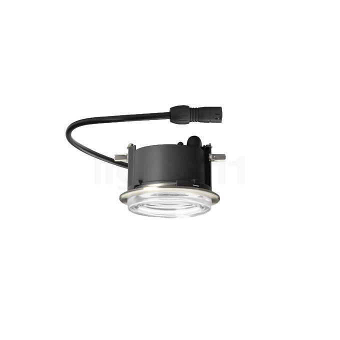 Bega 55942 - Deckeneinbauleuchte LED, Kristallglas 55942K3