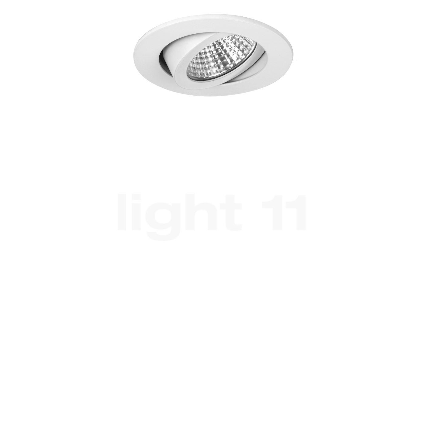 Brumberg 39461 - Einbaustrahler LED dim to warm, weiß 39461073