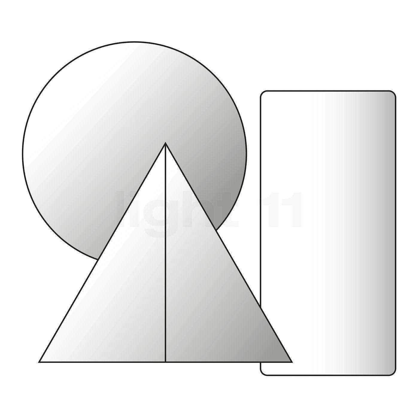 DCW Halterungsring für In The Tube 100, Aluminium ITT ANGLE 1 - 100
