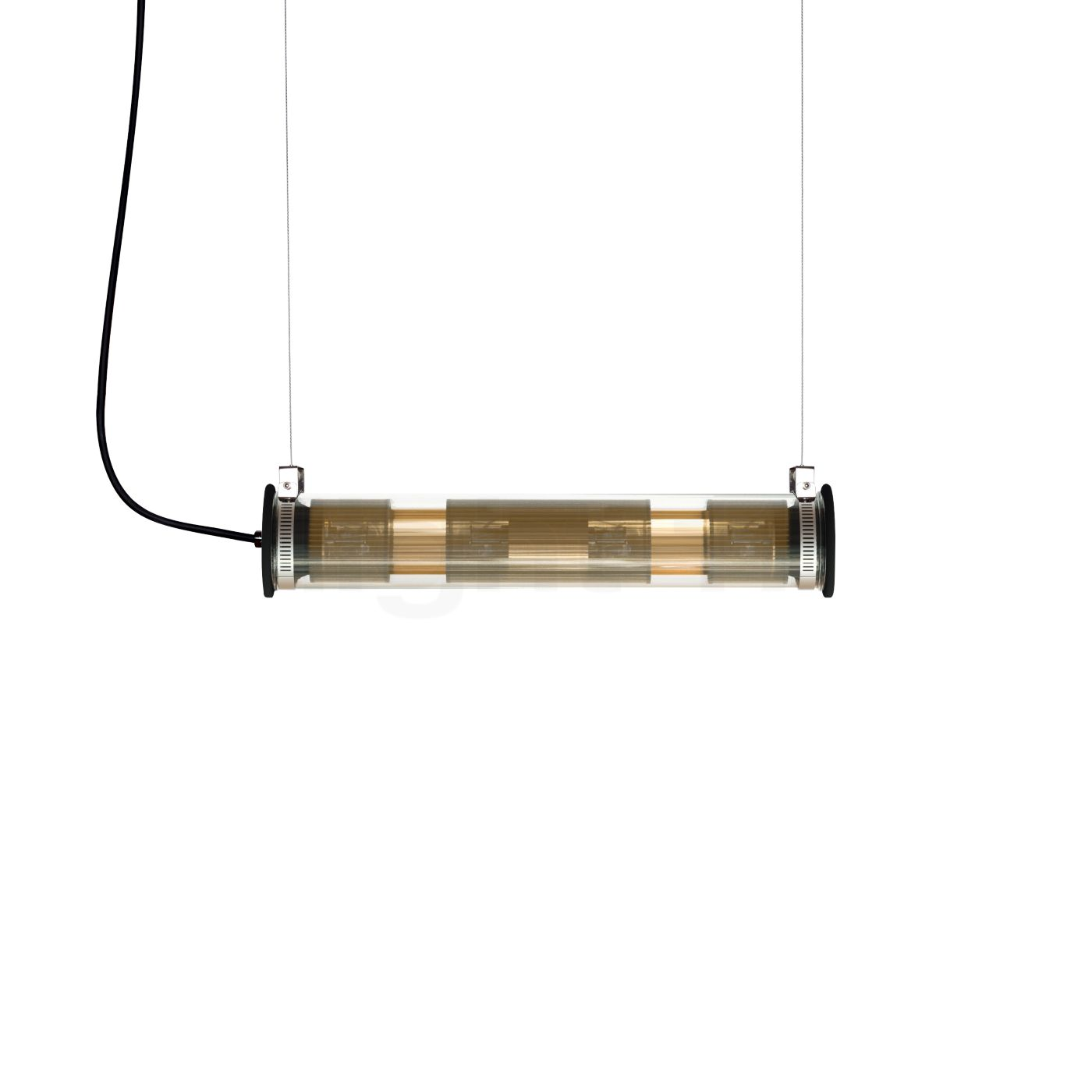 DCW In The Tube 120-700 Pendelleuchte, Reflektor gold/Gewebe gold ITT 120-700 GOLD-GOLD + ITT Hang 2