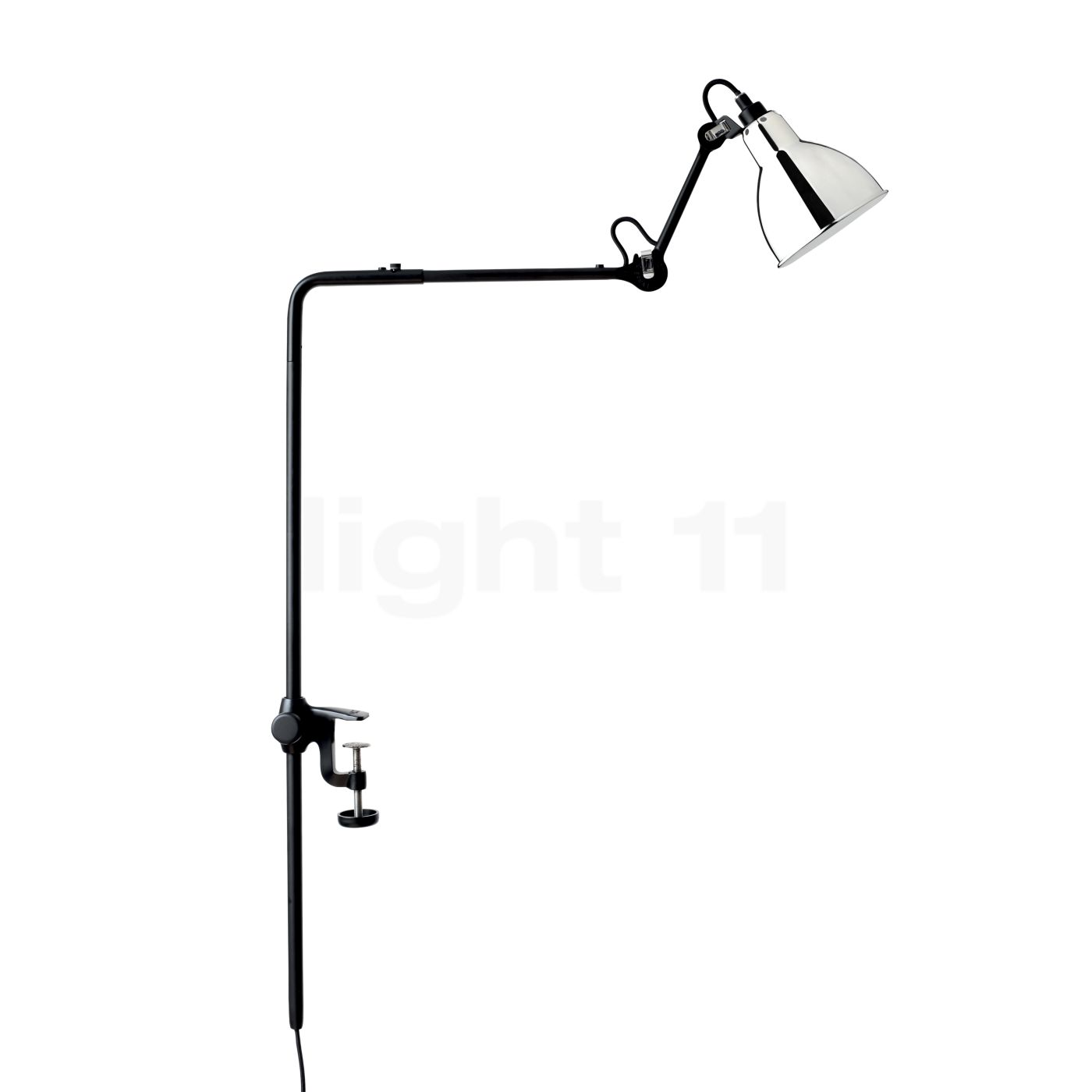 DCW Lampe Gras No 226 Klemmleuchte, Chrom 226 BL-CH