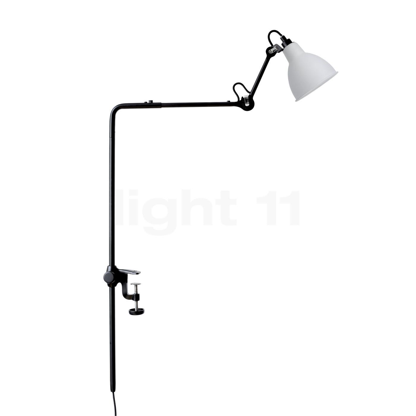 DCW Lampe Gras No 226 Klemmleuchte, opal 226 BL-GLASS