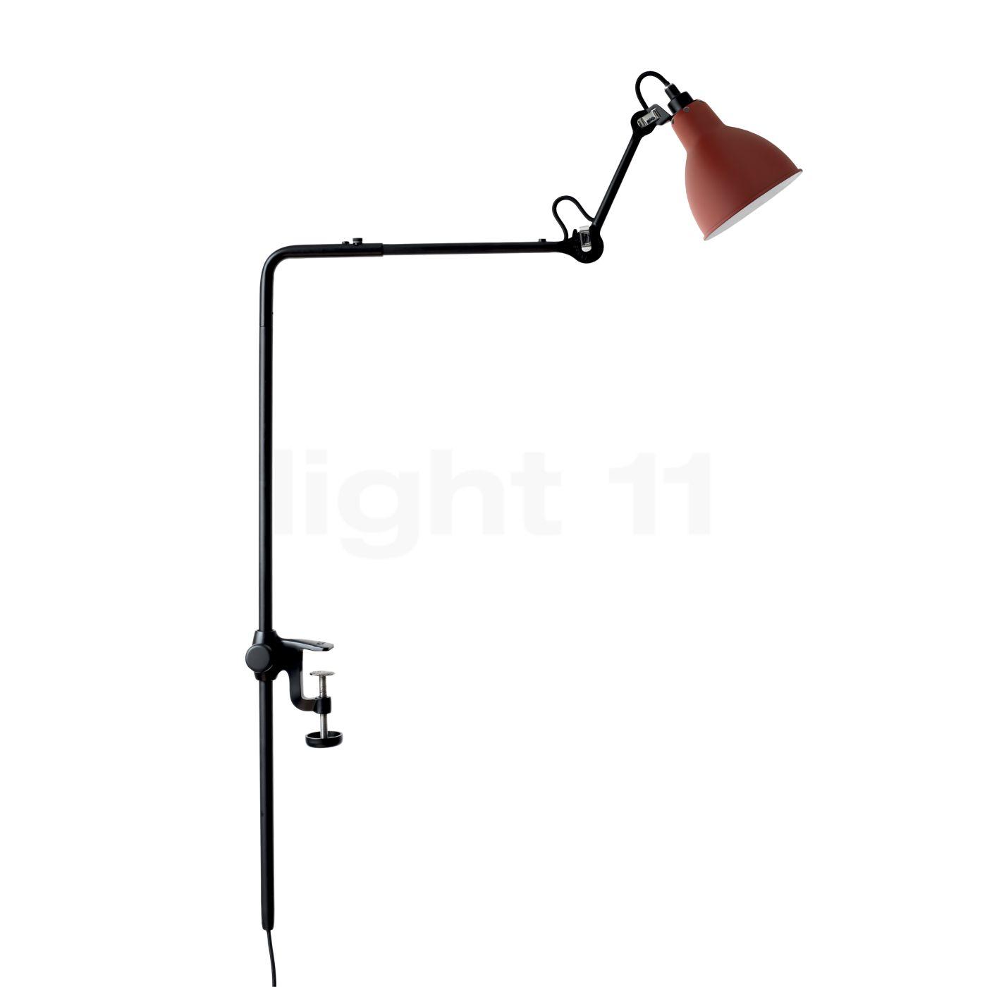 DCW Lampe Gras No 226 Klemmleuchte, rot 226 BL-RED
