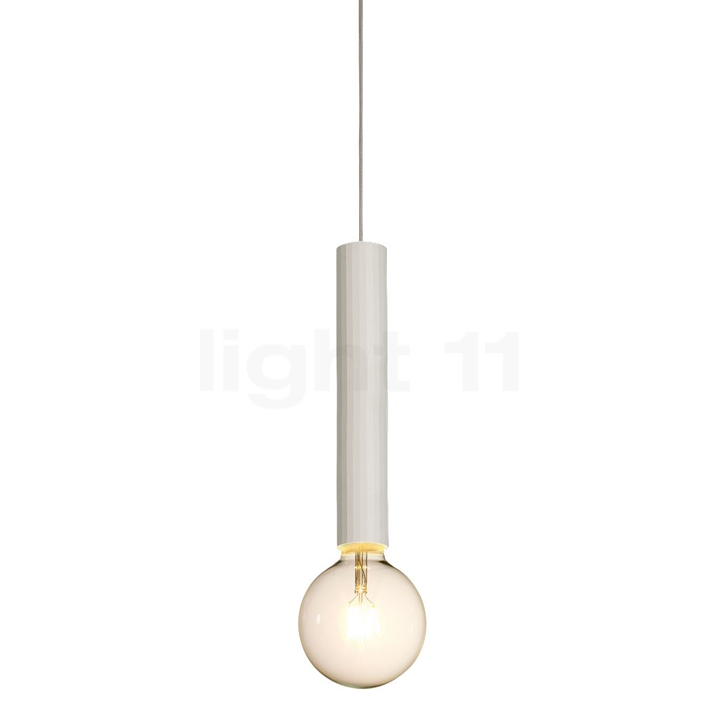 Delta Light Hedra Pendelleuchte, weiß, 30 cm 472 222 01 W