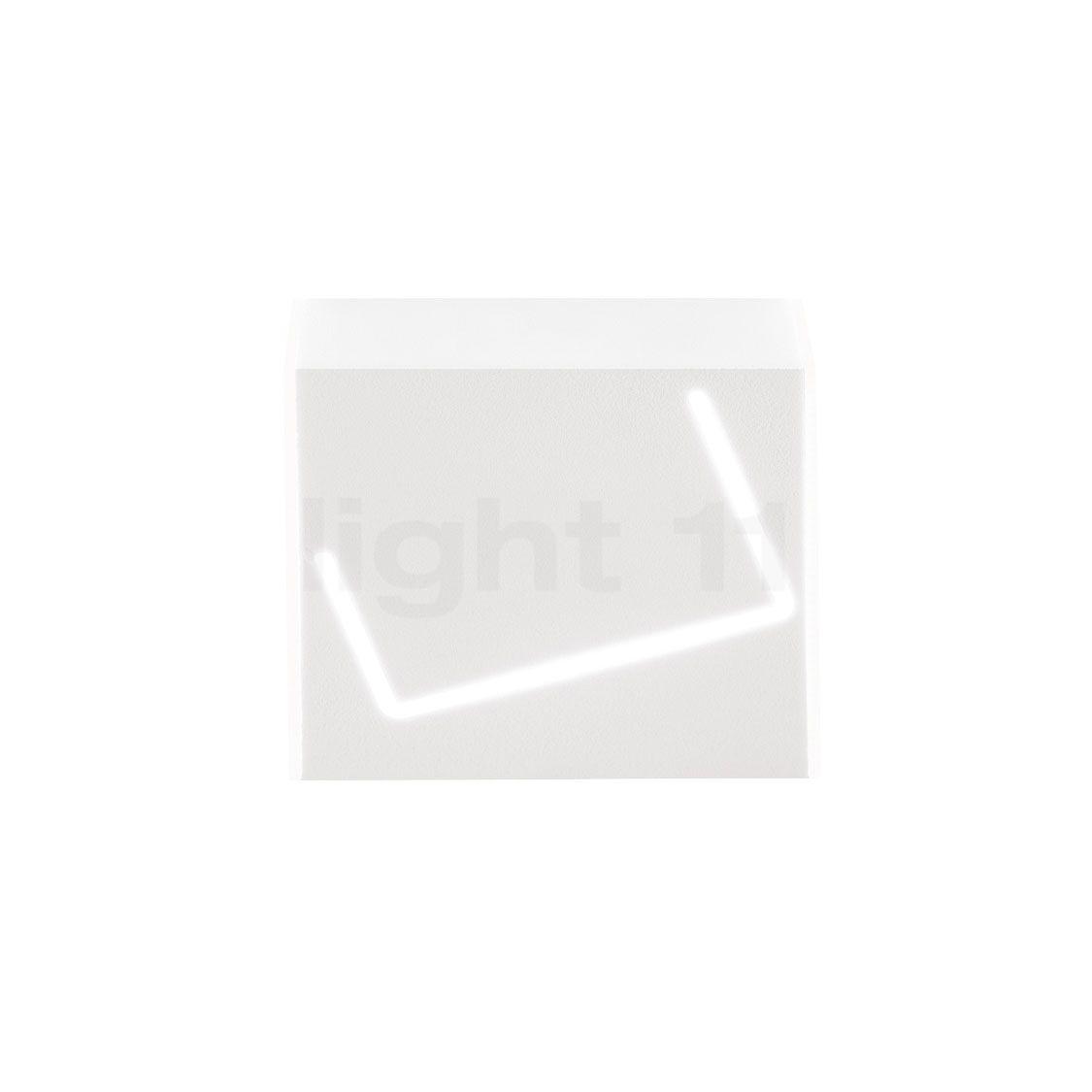 Fabbian Puà Wandleuchte LED, weiß , Lagerverkauf, Neuware F37 G01 01