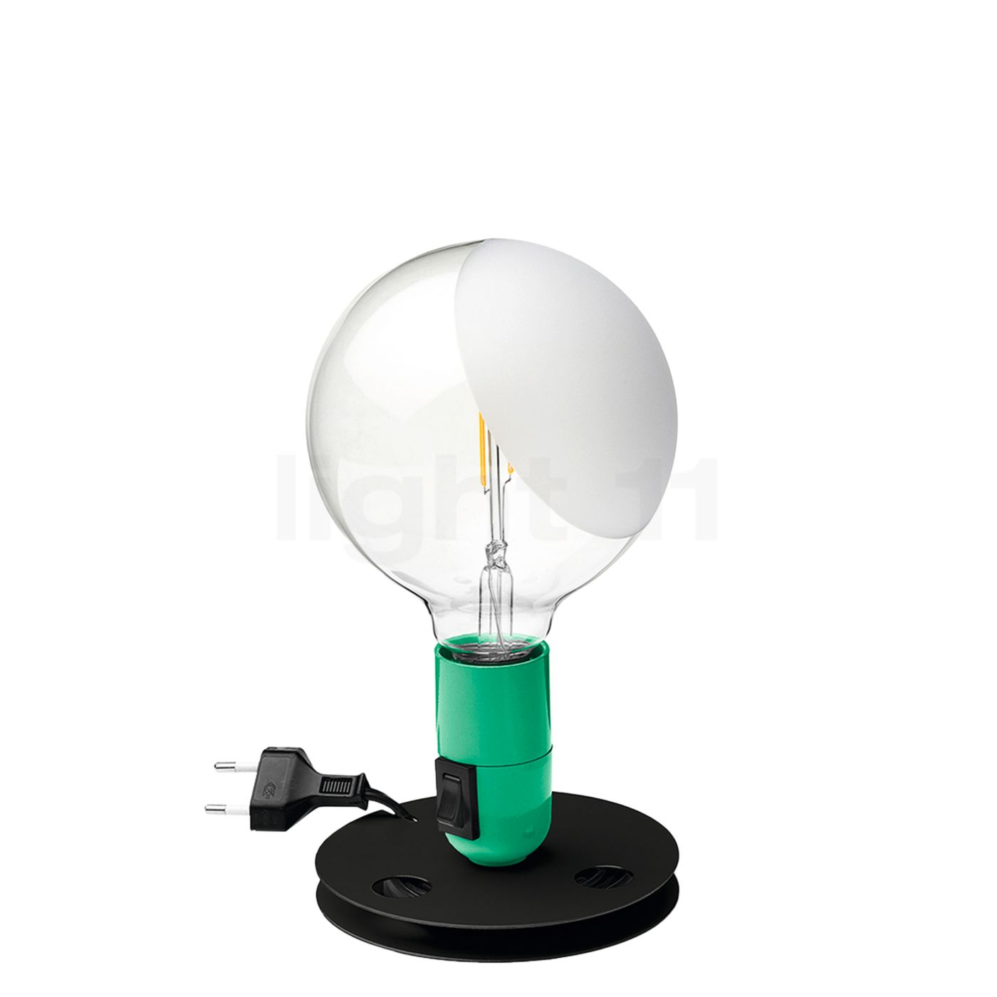 Flos Lampadina LED, grün F3299039