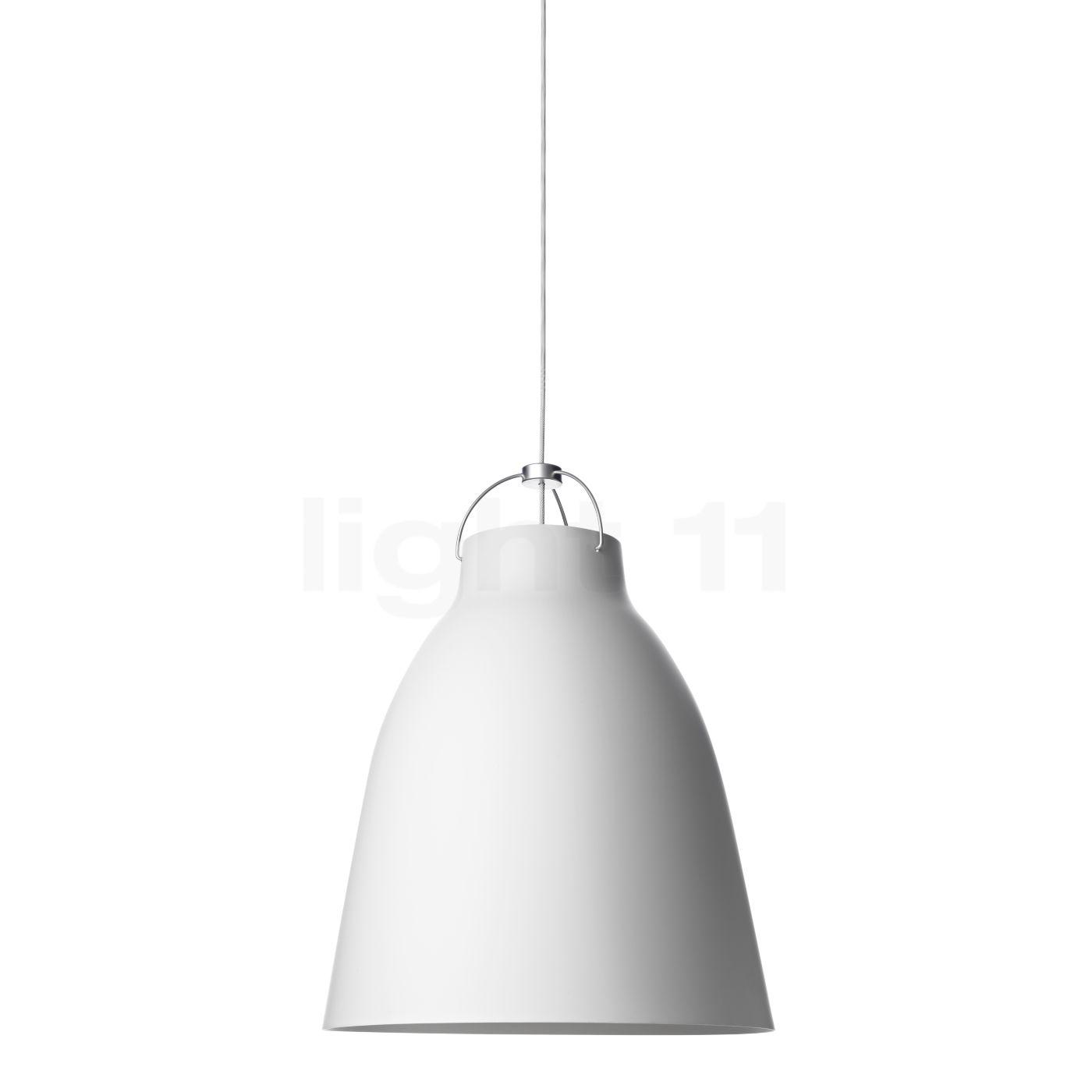 Fritz Hansen Caravaggio P2, weiß matt/Kabel weiß 14031213