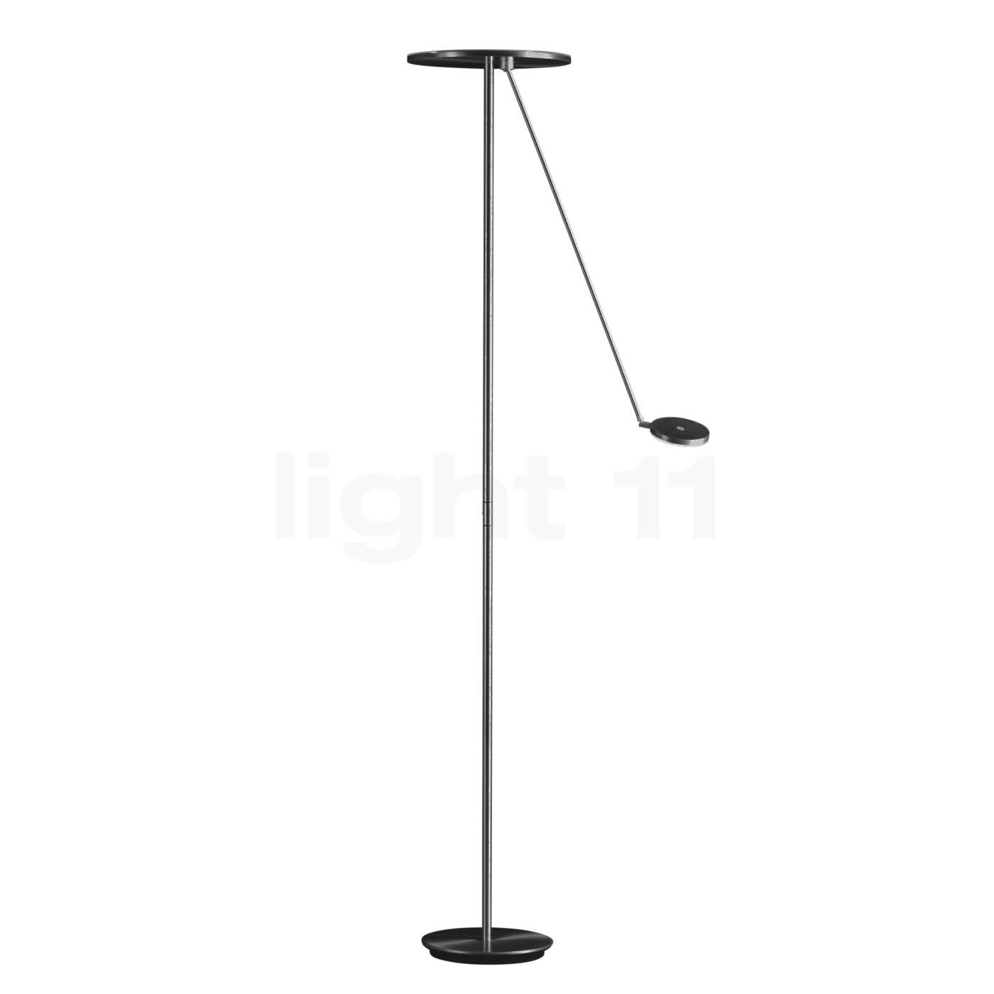 Holtkötter Plano L Deckenfluter LED, rauch matt 9905-5-53