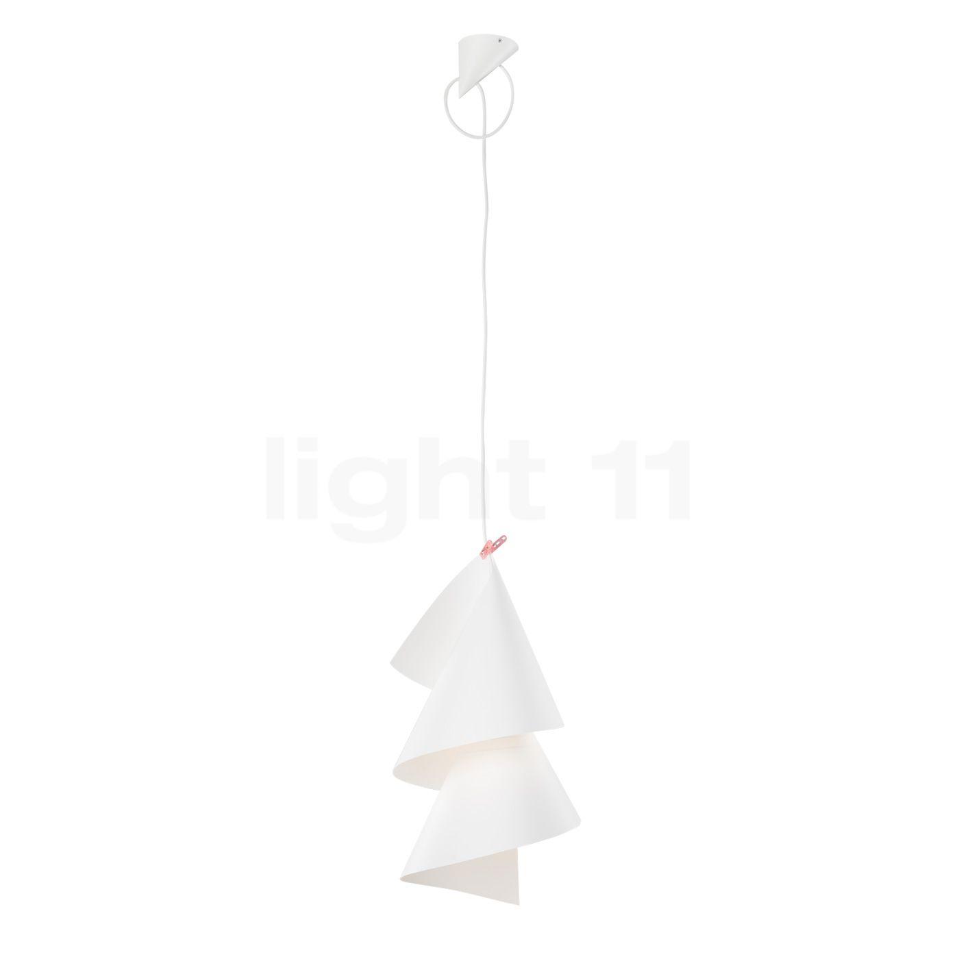 Ingo Maurer Willydilly, weiß, Kabel 450 cm 1052020