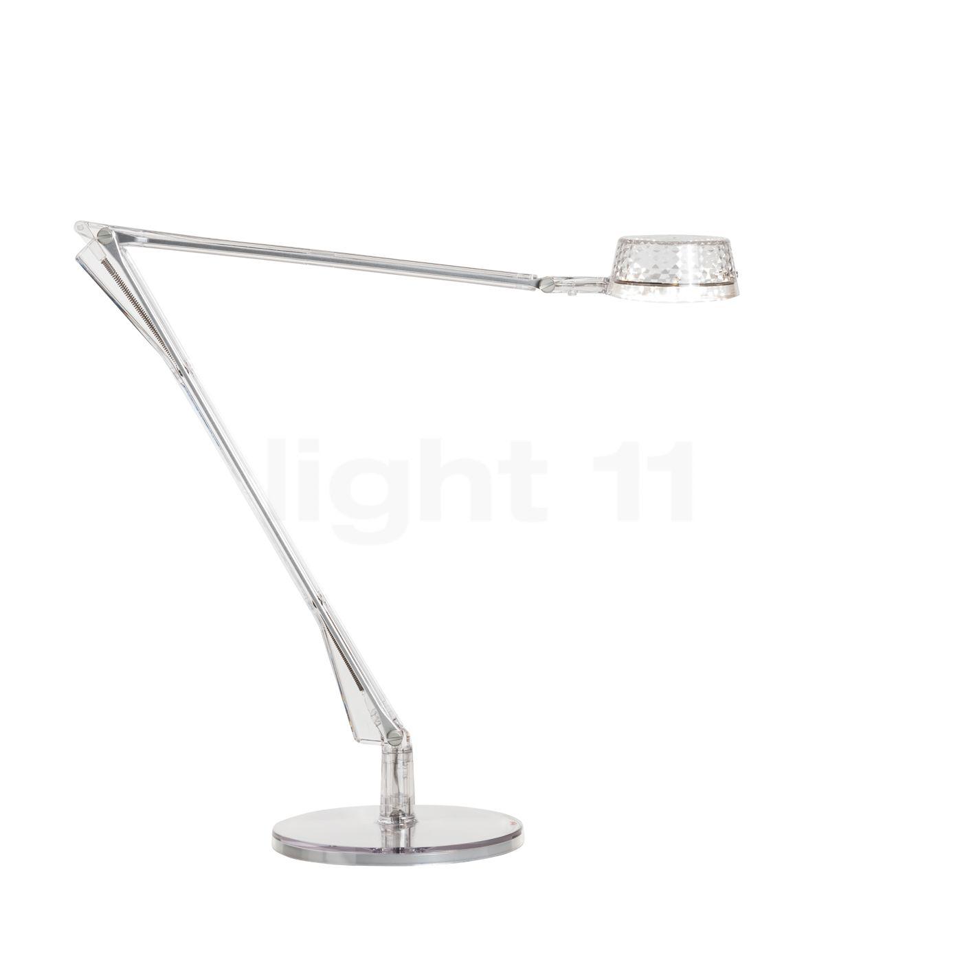 Kartell Aledin Dec Tischleuchte LED, Kristallklar 09195B4