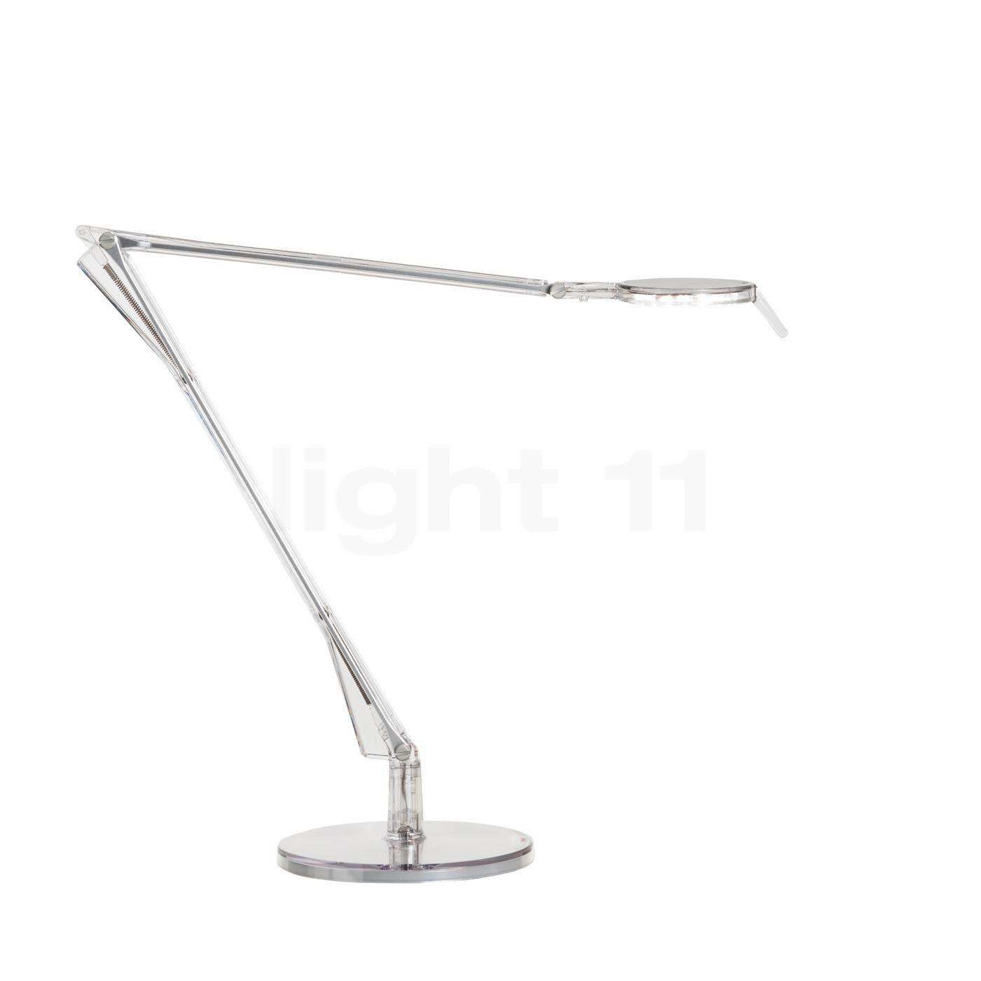 Kartell Aledin Tec Tischleuchte LED, Kristallklar 09190B4
