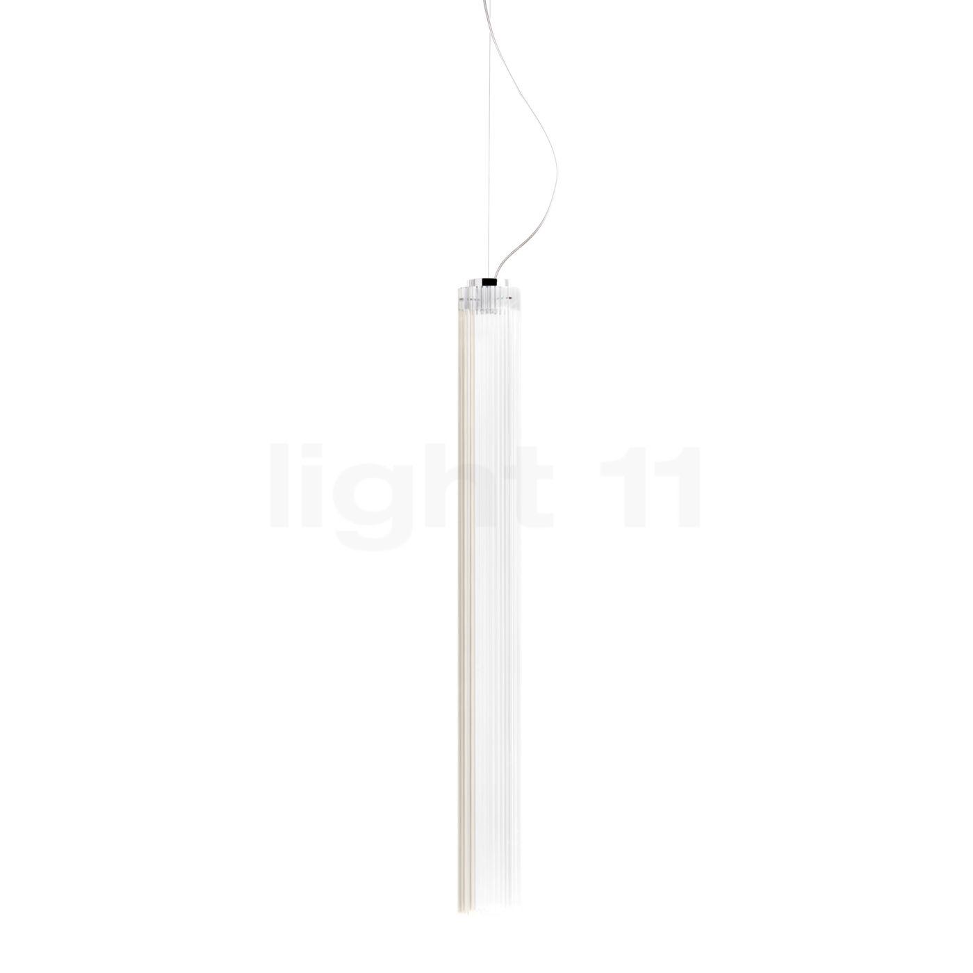 Kartell Rifly Pendelleuchte LED, Kristall, 90 cm 09360B4