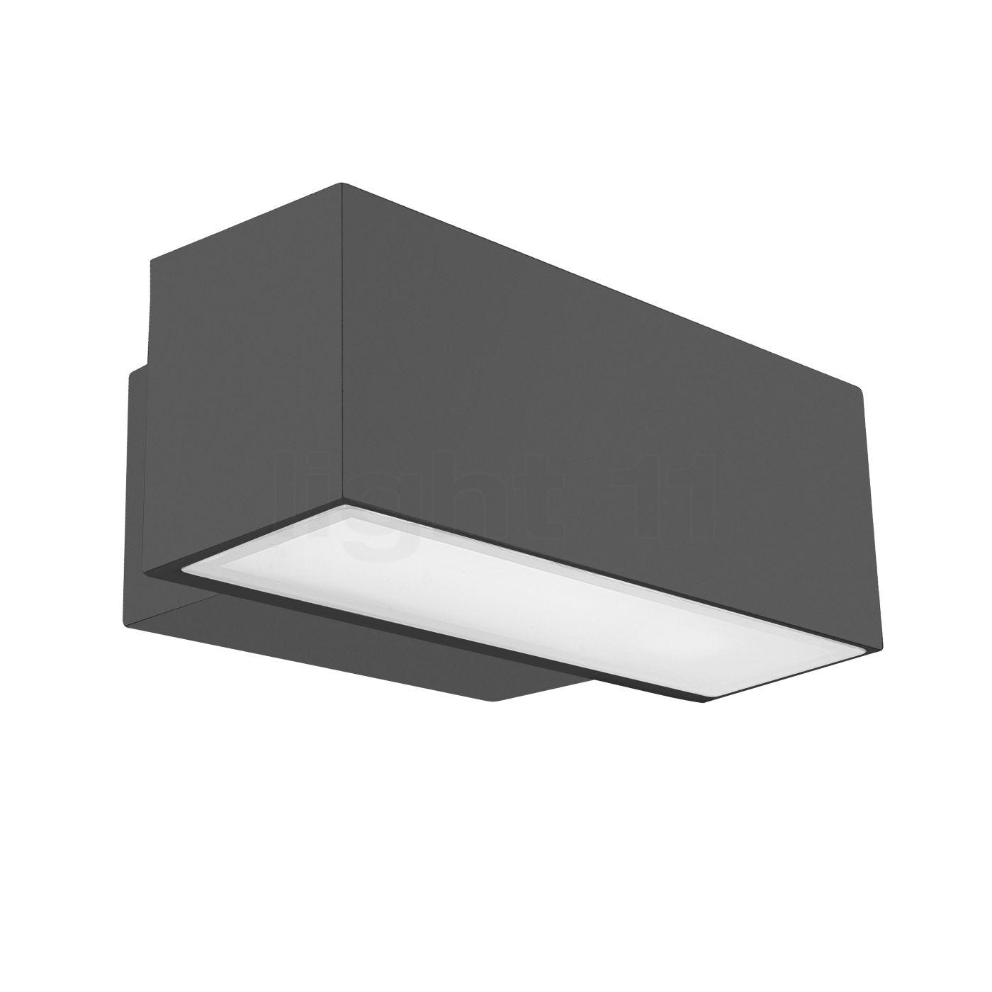 LEDS-C4 Afrodita 19W Wandleuchte LED, anthrazit 05-9879-Z5-CL