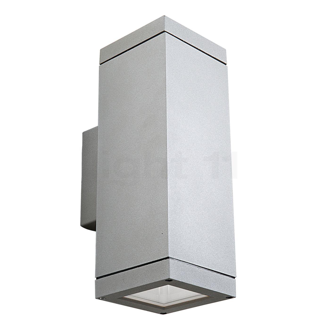 LEDS-C4 Afrodita PAR-30 Up-/Down Wandleuchte, grau 05-9368-34-37