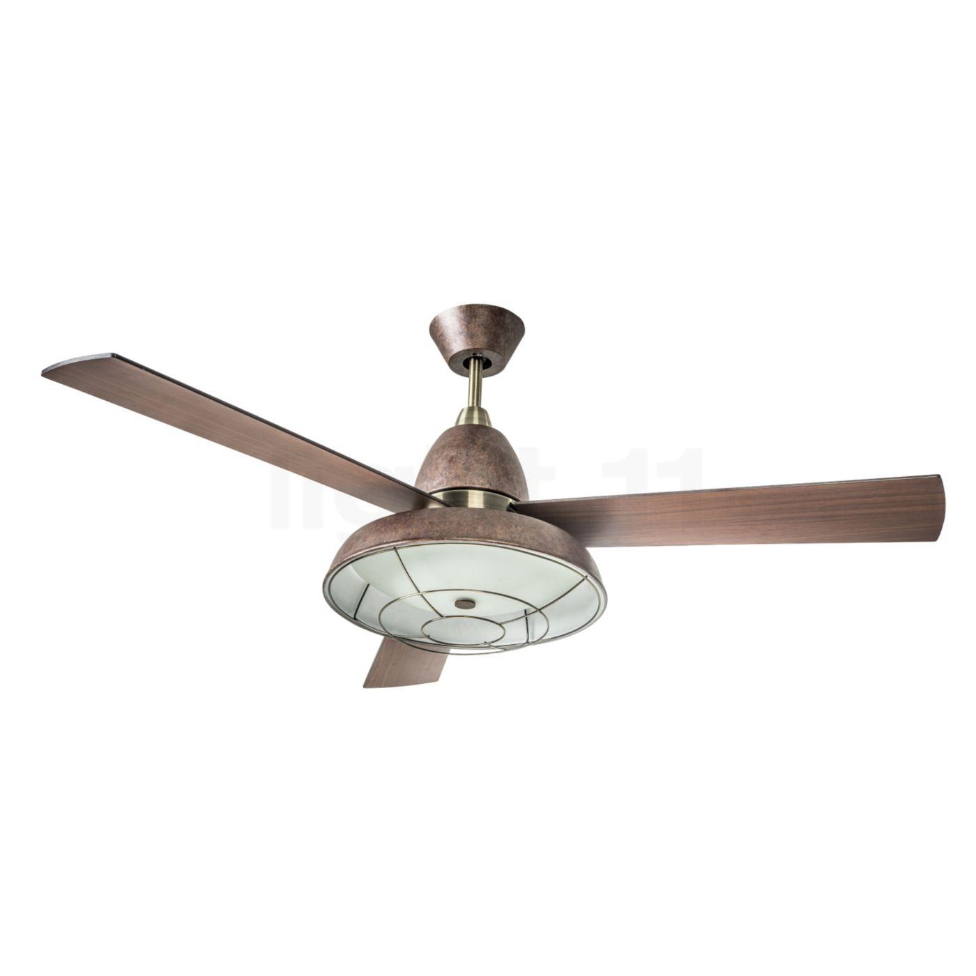 LEDS-C4 Vintage Ventilator, rostbraun | Baumarkt > Heizung und Klima | LEDS-C4