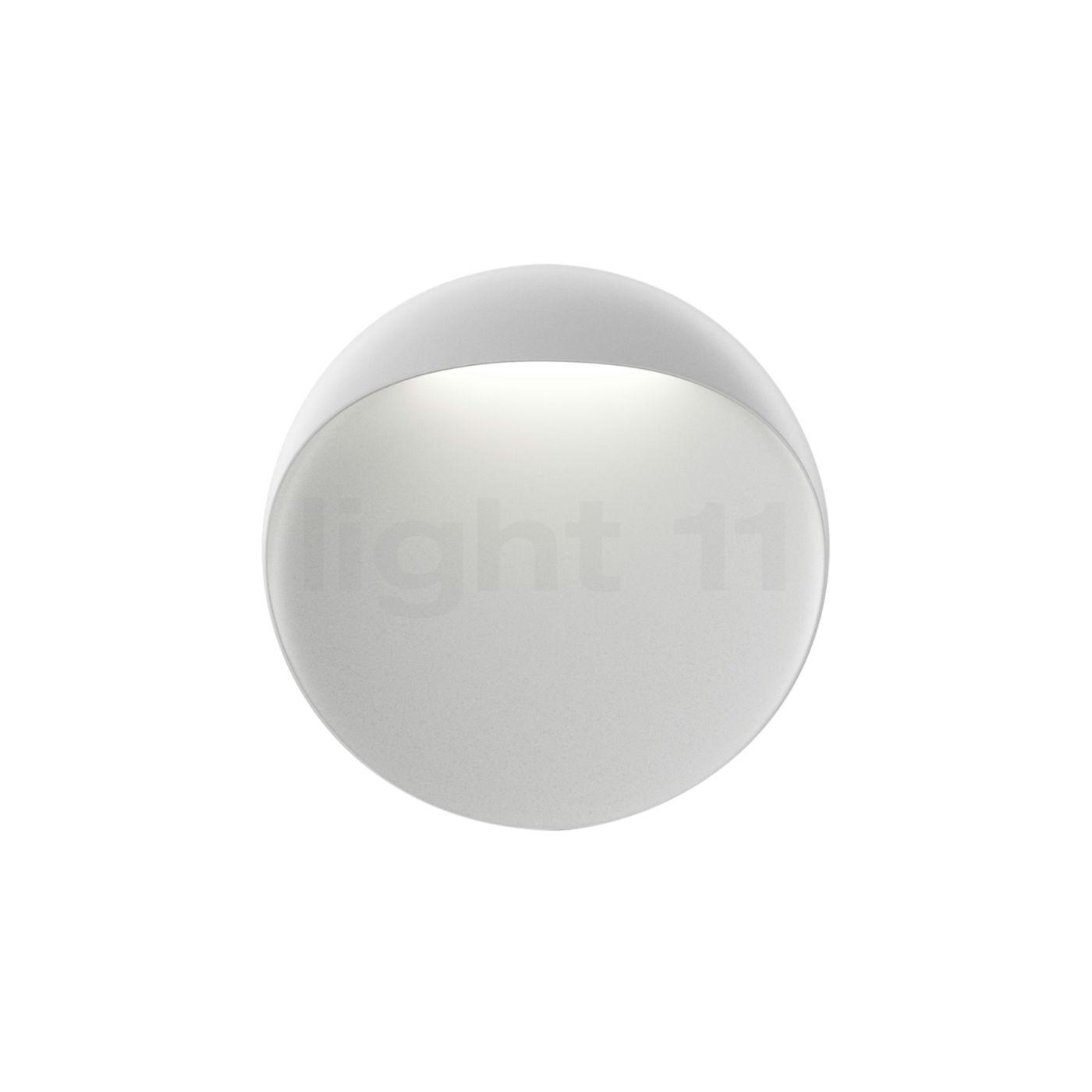 Louis Poulsen Flindt Wandleuchte LED, weiß, ø20 cm 5747402089