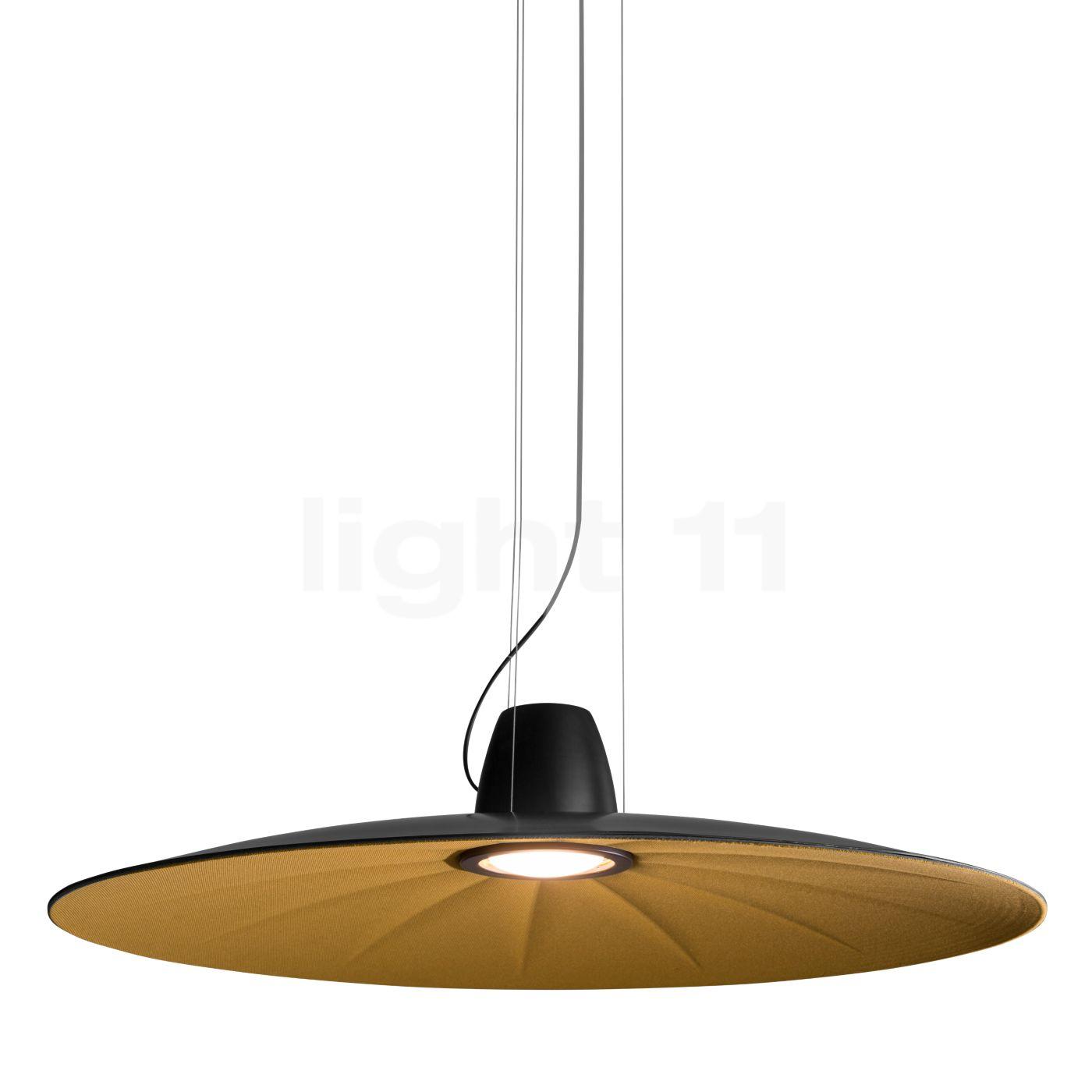 Martinelli Luce Lent LED, gelb 21001/DIM/GI