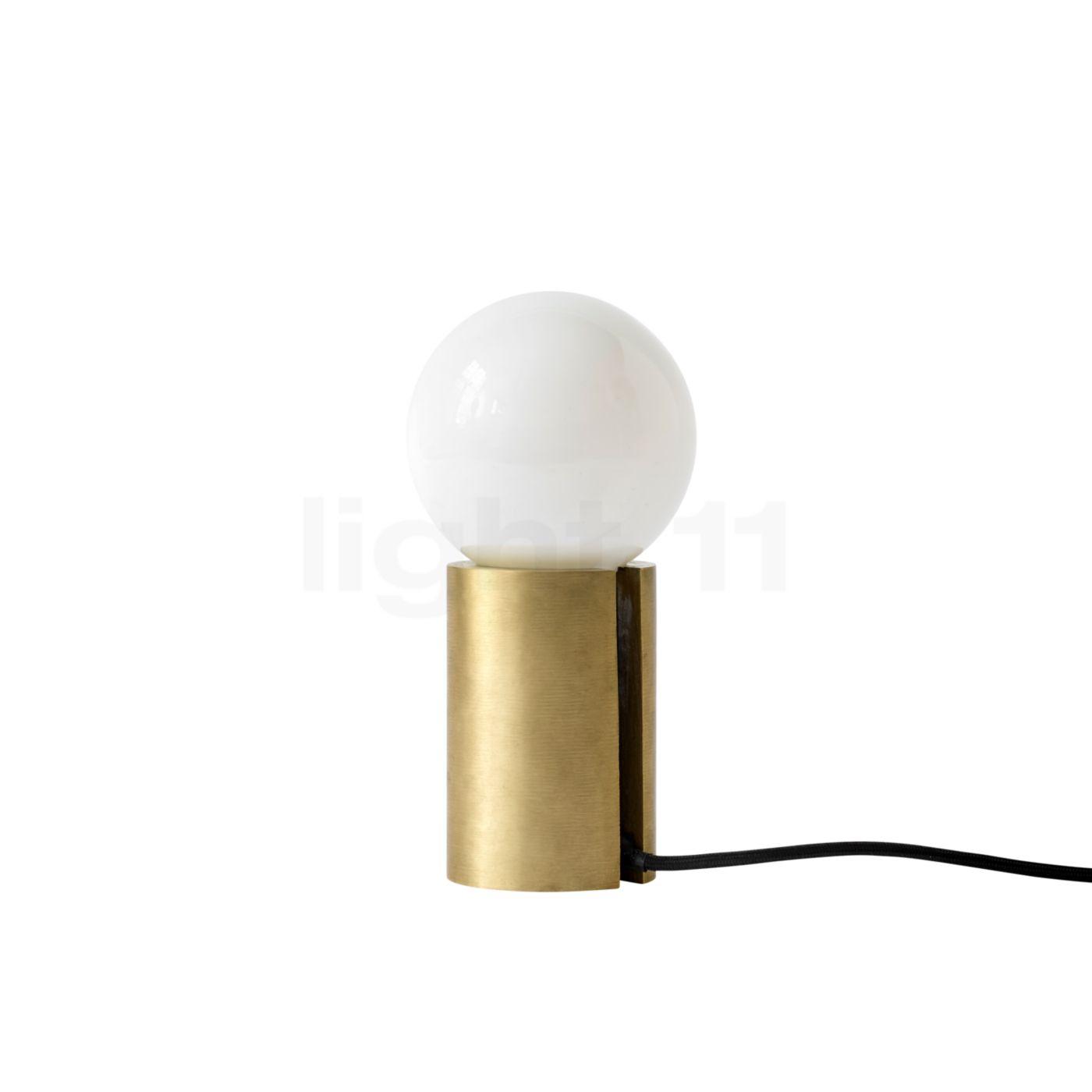 Menu Socket Occasional Lamp, Messing 1750839
