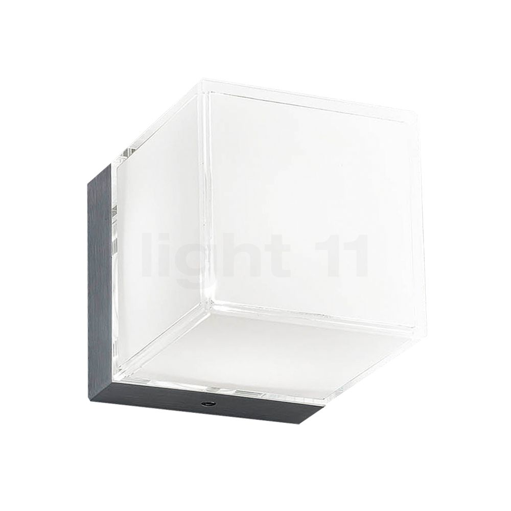 Morosini Dice Wand-/Deckenleuchte LED, weiß, 10 cm, 3.000 K 0360PP08BLL3