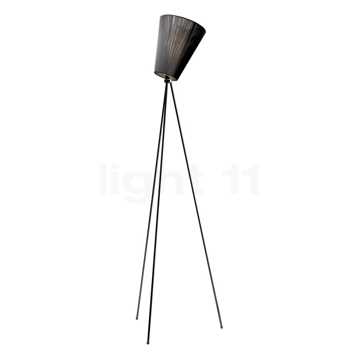 Northern Oslo Wood Stehleuchte, schwarz/schwarz | Lampen > Stehlampen > Standleuchten | Northern