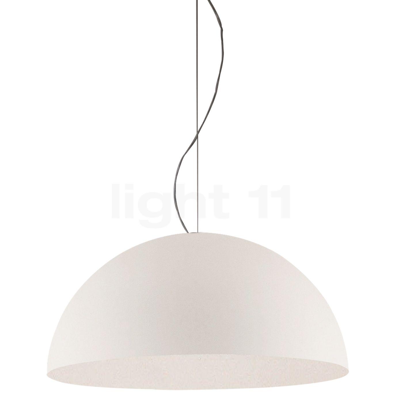 Oluce Sonora XL Pendelleuchte, opalglas L0493 BI