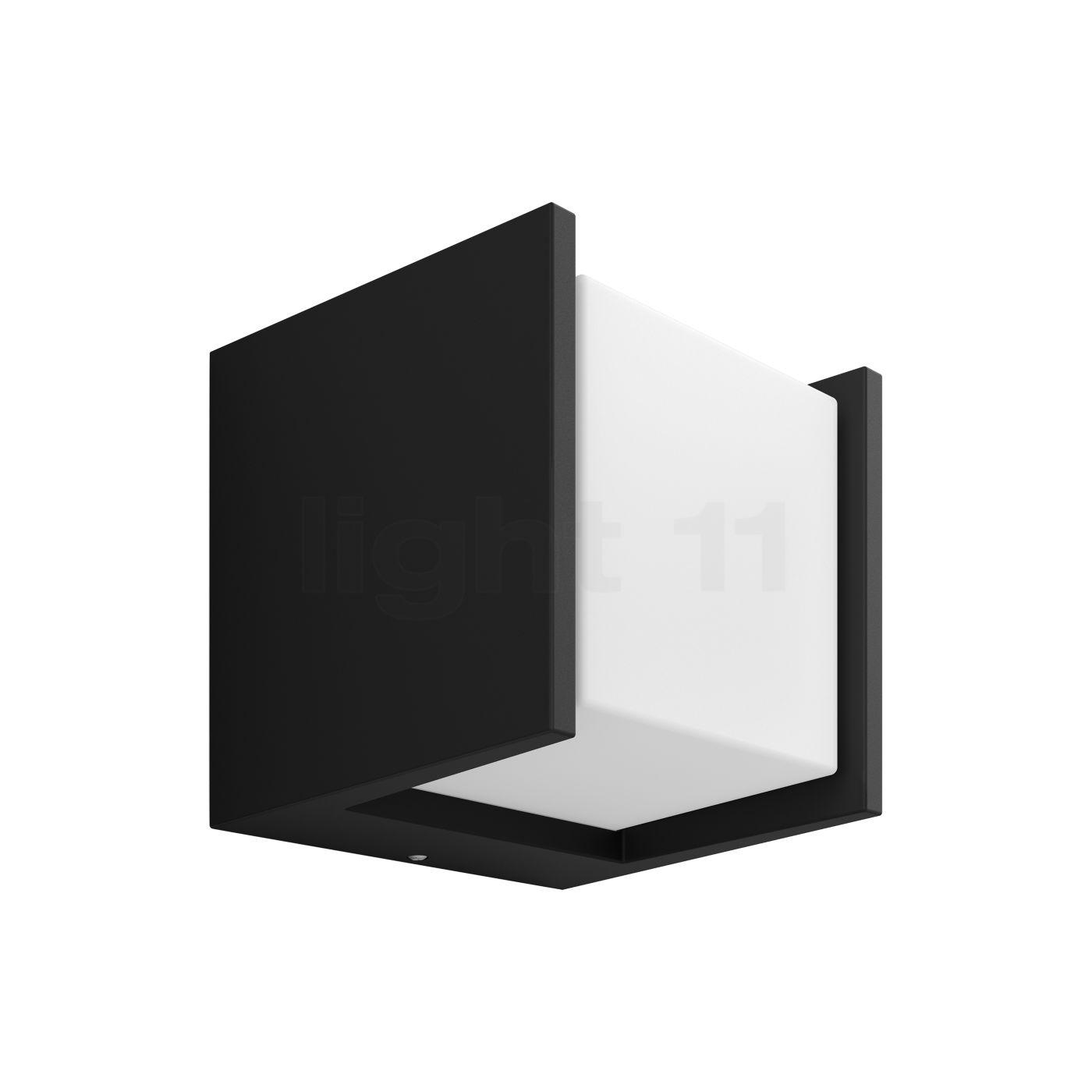 Philips Hue Fuzo Wandleuchte LED, quadratisch 1744530P7