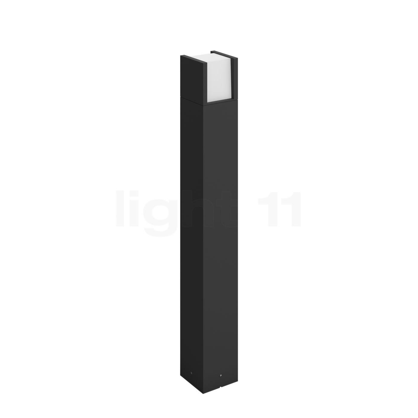 Philips Hue Fuzo Wegeleuchte LED, schwarz 1744830P7