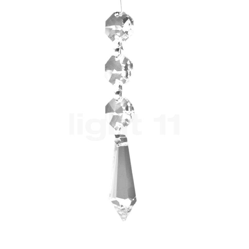 Serien Lighting Zoom Kristallglas, Kristallglas, 20 Stück ZO1014
