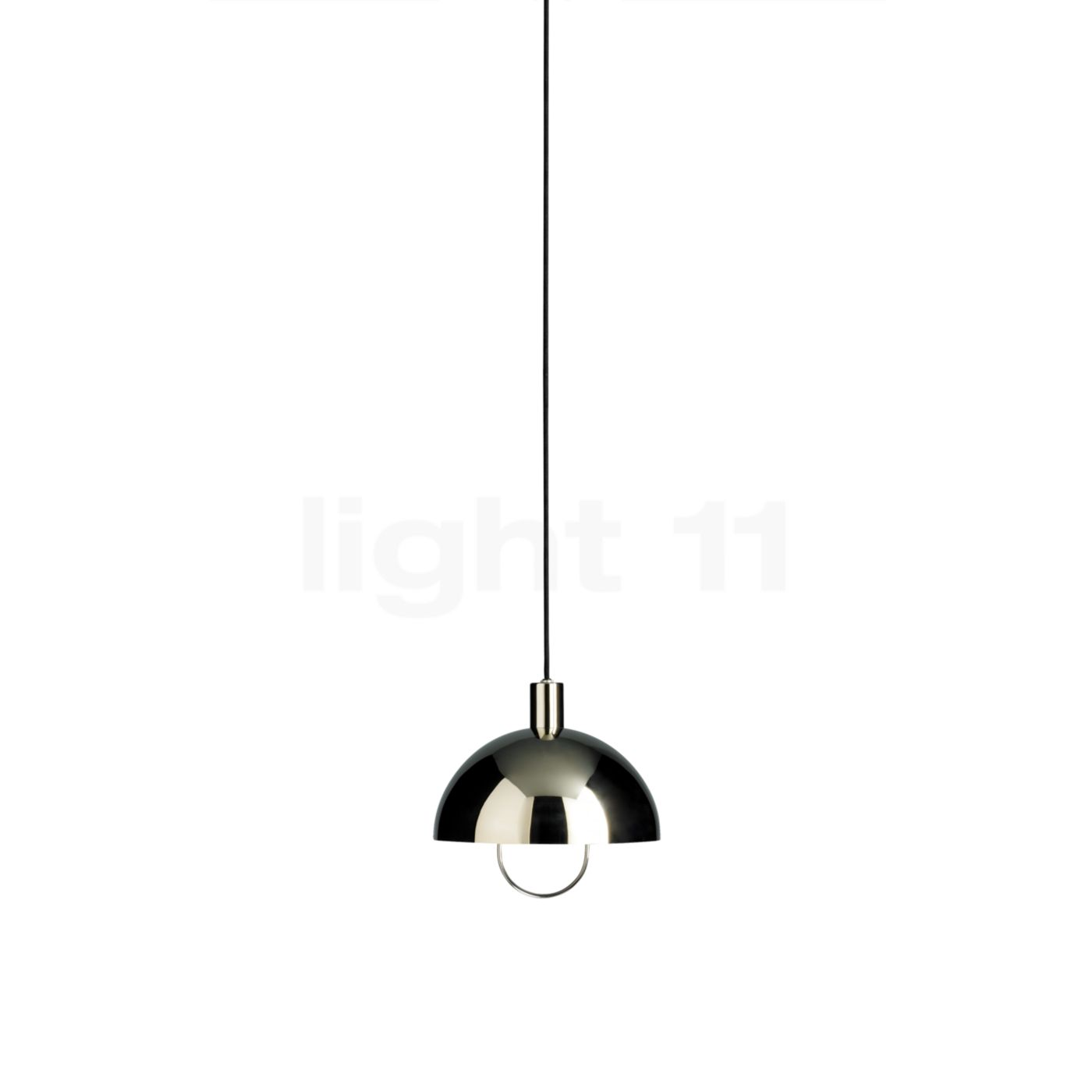 Tecnolumen Bauhaus HMB 25/300 Pendelleuchte, silber HMB 25/300 Ni