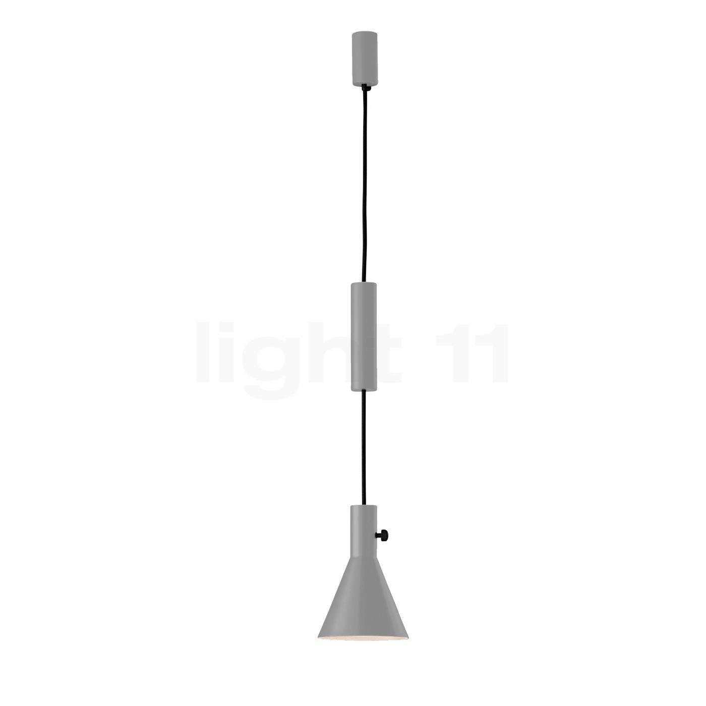 Tecnolumen Eleu Pendelleuchte LED, grau PL 16 GR