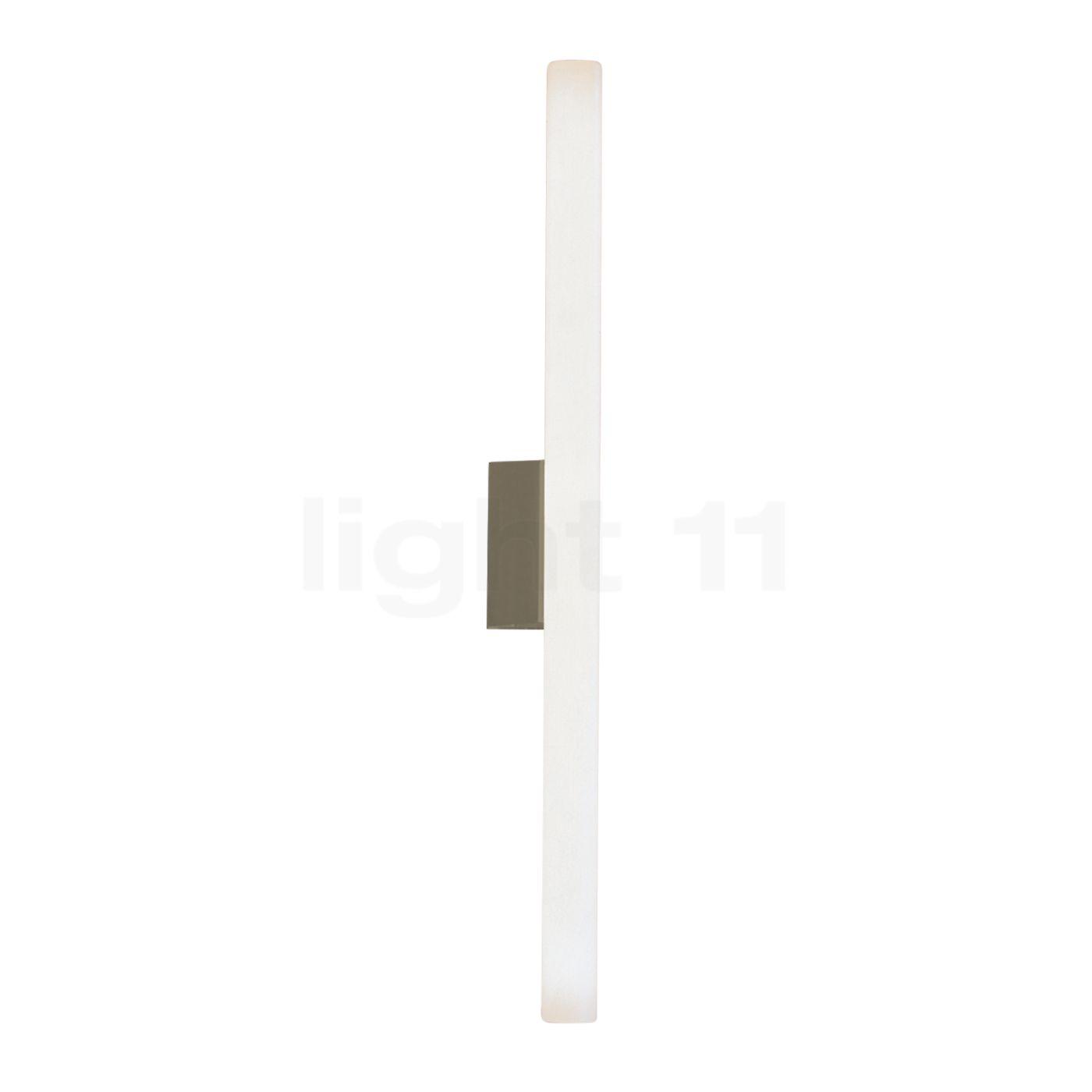 Top Light Lichtstange Klemmbefestigung ohne Leuchtmittel, Nickel matt 2-0319