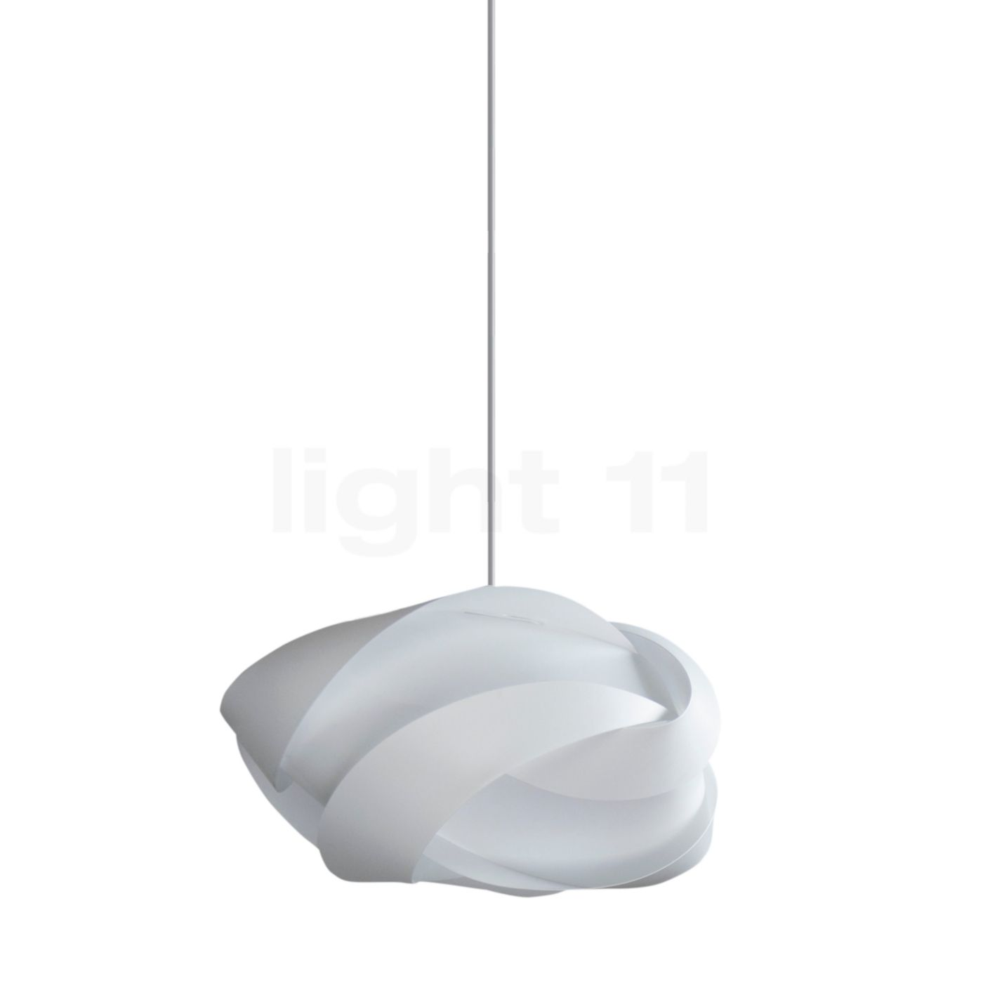 UMAGE Ribbon Mini Pendelleuchte, weiß, Kabel weiß 2164 + 4005