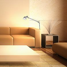 Zone lighting for armchairs and sofas