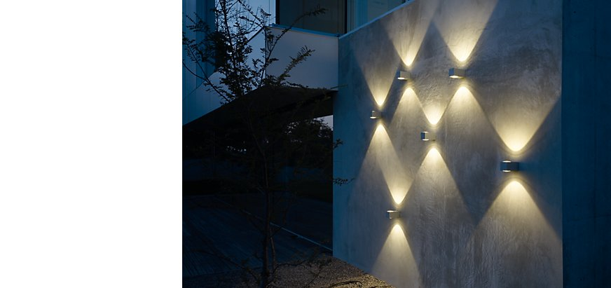 Exterior wall lights at light11.eu