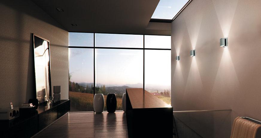 Wandlamp Boven Spiegel : Wandlampen kopen bij light