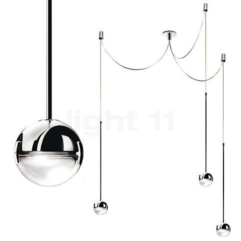 Cini&Nils Convivio Sospensione tre LED